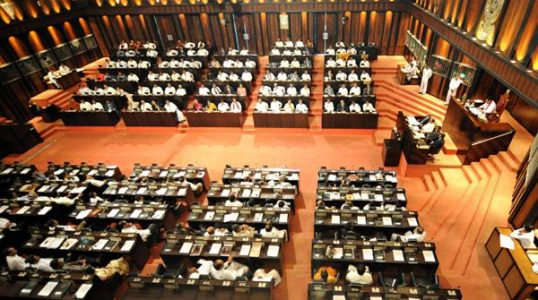President Mahinda Rajapakse delivered his speech in parliament, announcing the final defeat of the Tamil Tigers, even as the rebels insisted their leader was still alive, and vowed to fight on for a Tamil homeland.