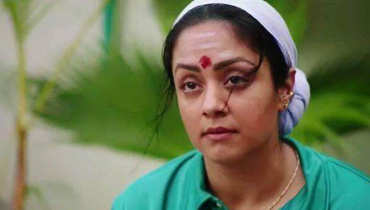 நாச்சியார்' பட சர்ச்சை ,நடிகர்கள் எப்படி பேசினாலும் பிரச்சினை வராது – ஜோதிகா