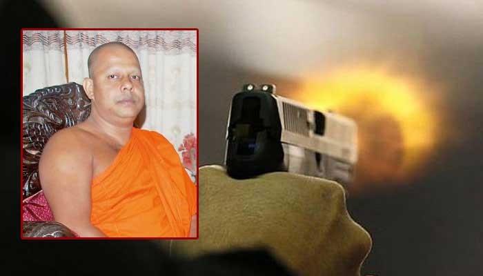 கதிர்காமம் கிரிவிகாரை விகாராதிபதி மீது துப்பாக்கி சூடு
