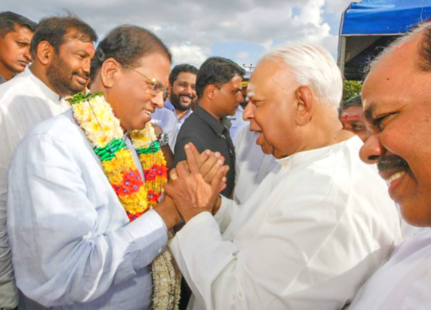 maithri and Sampanthan