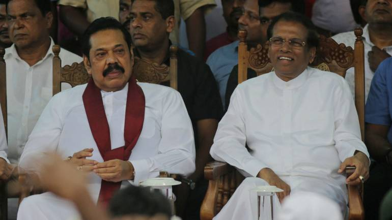 maithri and mahinda