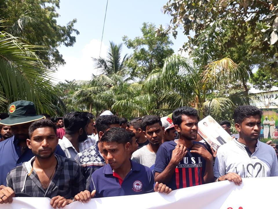 Jaffna Uni Proetst March (3)