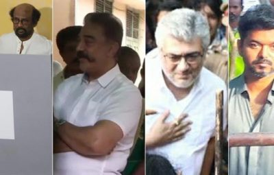 201904180831291178_Rajinikanth-Ajith-and-Vijay-Cast-thier-votes_SECVPF