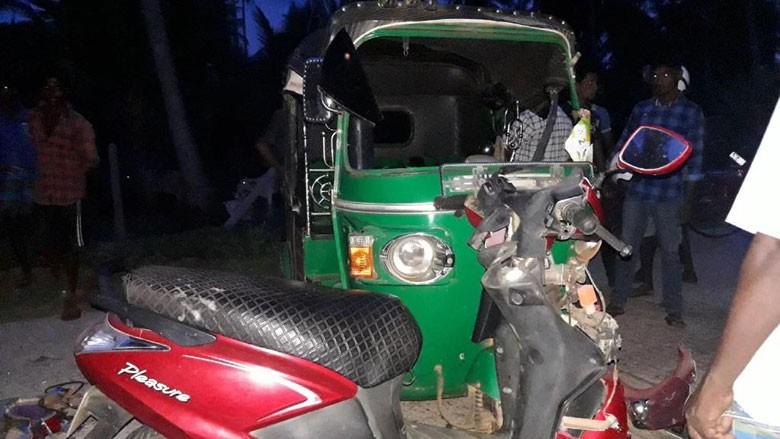 முல்லைத்தீவு- முத்துஐயன்கட்டுப் பகுதியில் இடம்பெற்ற விபத்தில் 7 மாணவர்கள் காயம்