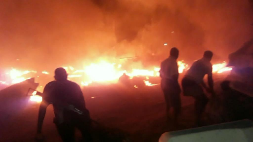 Kalamatiya Fire (1)