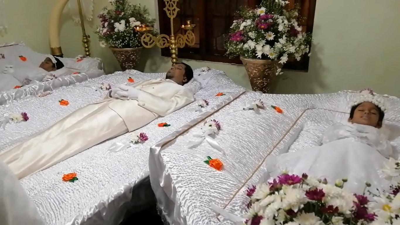 கிரிந்த கடற்பரப்பில் உயிரிழந்த தந்தை, புதல்விகளின் இறுதி கிரியைகள்