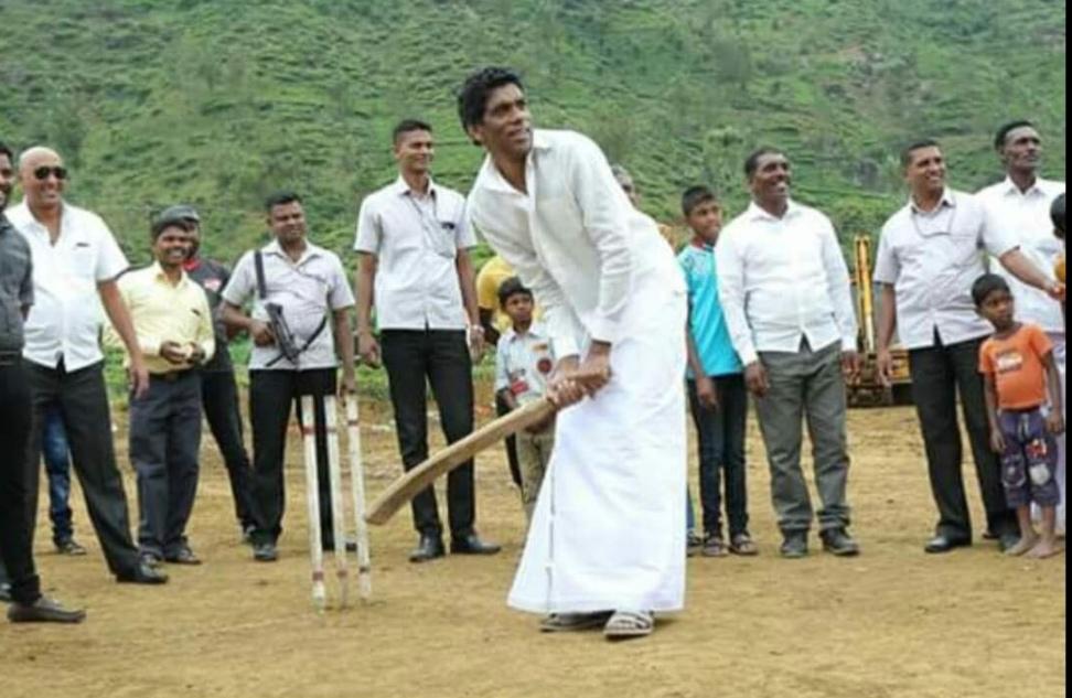 நுவரெலியா மாவட்ட கிரிக்கெட் சபையின் தலைவராக  திகாம்பரம்