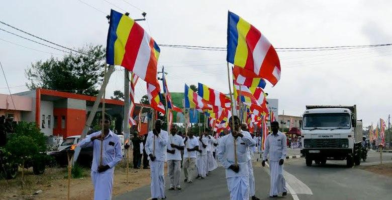 நாவற்குழி சமித்தி சுமண விகாரை நேற்று திறந்து வைக்கப்பட்டது