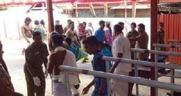 நல்லூர் கந்தசுவாமி ஆலய வளாகத்தில் சந்தேகத்திற்கிடமான முறையில் நடமாடிய மூவர் கைது