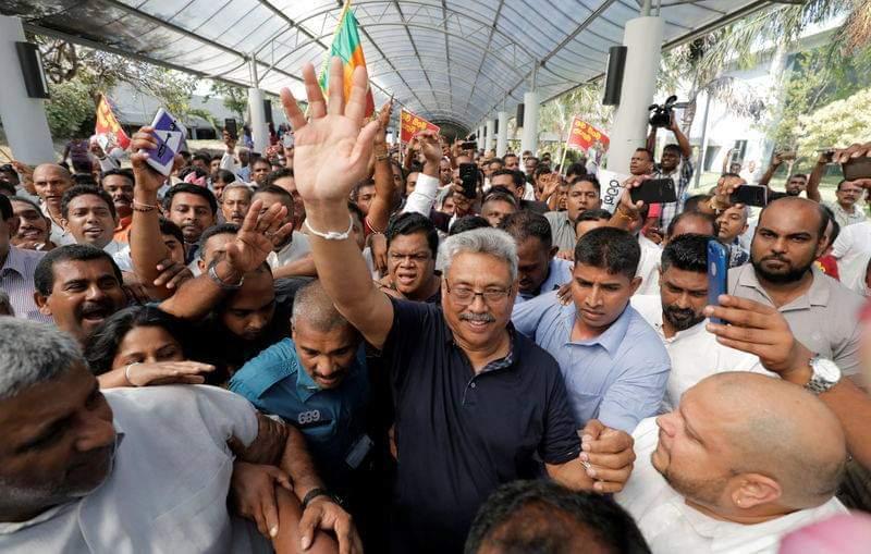 கோதபாயவே ஜனாதிபதி வேட்பாளர் : மகிந்தவினால் அறிவிக்கப்பட்டது