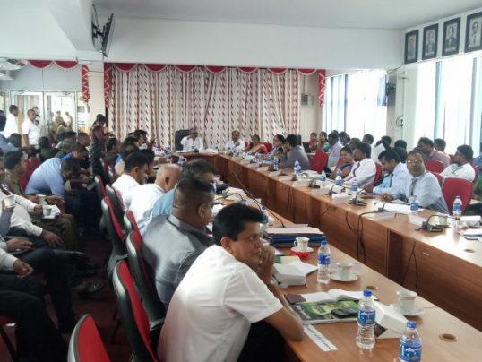 முல்லைத்தீவு மாவட்டத்தில் காணி விடுவிப்பு தொடர்பில் விசேட கலந்துரையாடல்