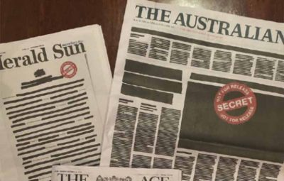 201910211420353640_Australian-newspapers-black-out-front-pages-to-fight-back_SECVPF
