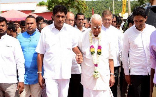 ஜனாதிபதித் தேர்தலில் தமிழ் தேசியக் கூட்டமைப்பு சஜித் பிரேமதாசவுக்கு ஆதரவு