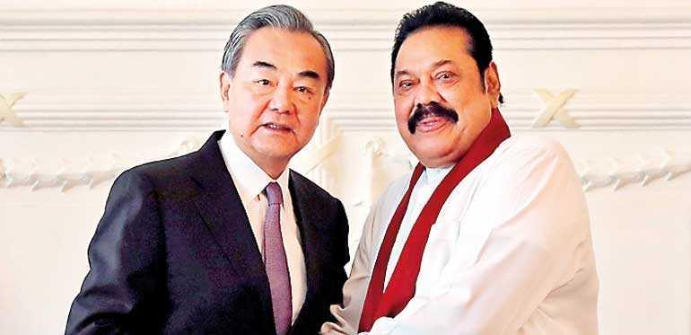 Mahinda and Chinese Foreign