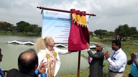 Srilanka-First-Floating-Solar-Plant-in-Kilinochchi