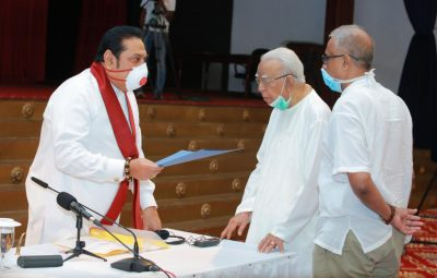 TNA and mahinda