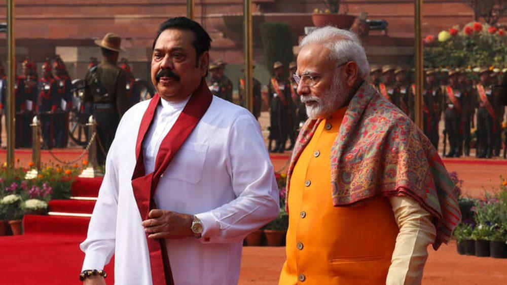 Modi and Rajapaksha