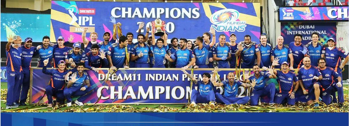 IPL 2020 – மும்பை இந்தியன்ஸ் சம்பியனானது!